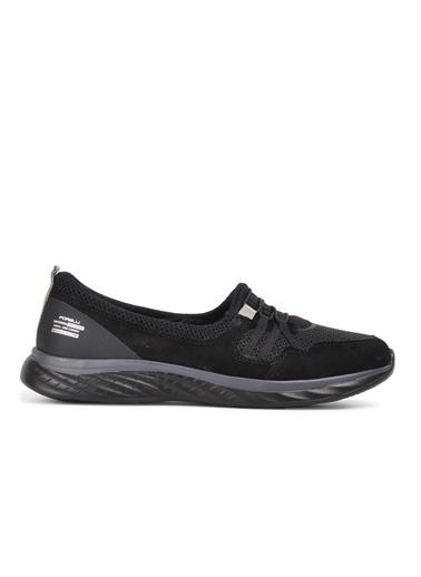 Forelli Ceyhan Siyah Comfort Kadın Spor Ayakkabı Siyah